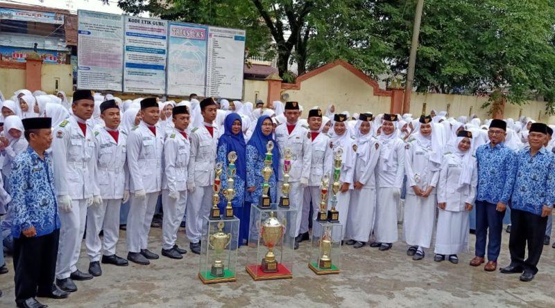 Pasukan Pengibar Bendera MAN 1 (PASPRAMSAT) Kota Medan Juara Umum 1 Buku VII PASGARDKIBRA SMAN 14 Medan