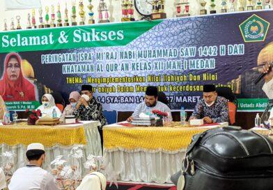 Peringatan Isra' Mi'raj MAN 1 Medan