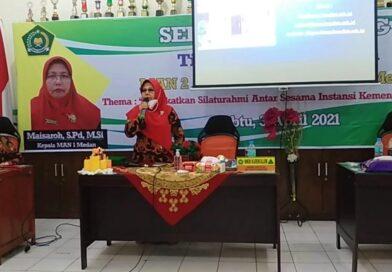 Kunjungan kerja MAN 2 Aceh Tamiang di MAN 1 Medan