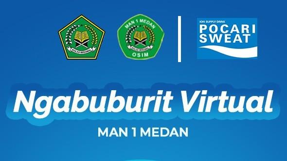 OSIM MAN 1 Medan Gelar Ngabuburit Virtual